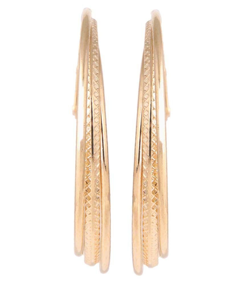 Parinaaz Jewellery Trendy Hoop Earrings for Girls and Women