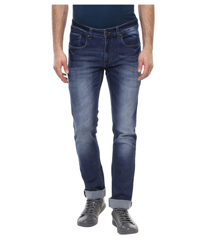 11cent Dark Blue Slim Jeans