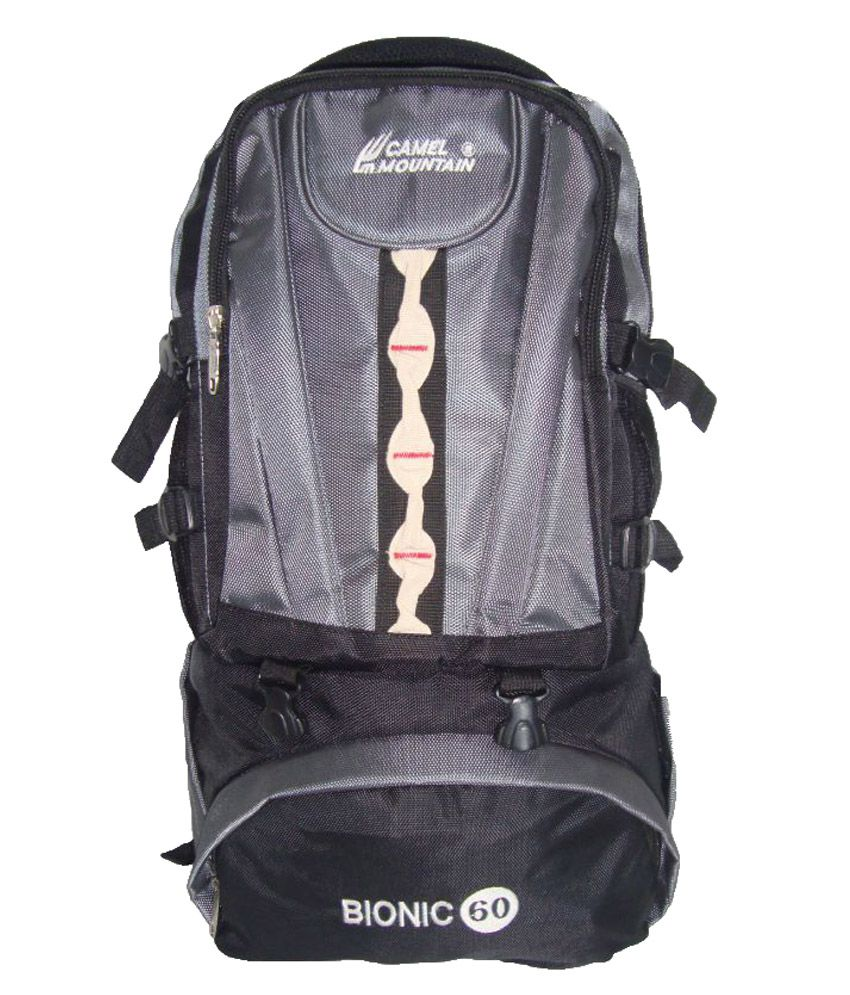 44a266f5d5d Camel Mountain 45-60 litre Hiking Bag - Buy Camel Mountain 45-60 litre  Hiking Bag Online at Low Price - Snapdeal