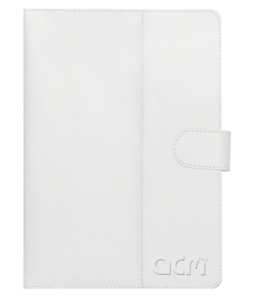 Iball Slide Snap 4G2 Flip Cover By ACM White