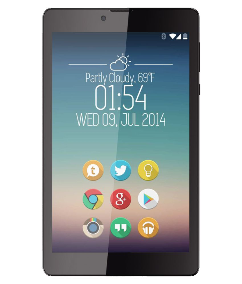 Izotron Mipad 07 Black ( 3G + Wifi , Voice calling )