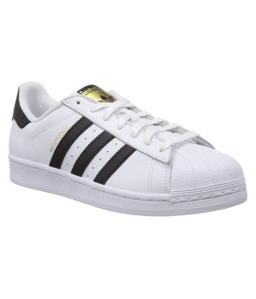 f37e0c75a710 Adidas Superstar Sneakers White Casual Shoes - Buy Adidas Superstar  Sneakers White Casual Shoes Online at Best Prices in India on Snapdeal