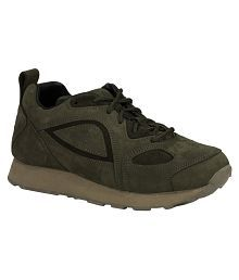 Woodland G 777WS Lifestyle Olive Casual Shoes