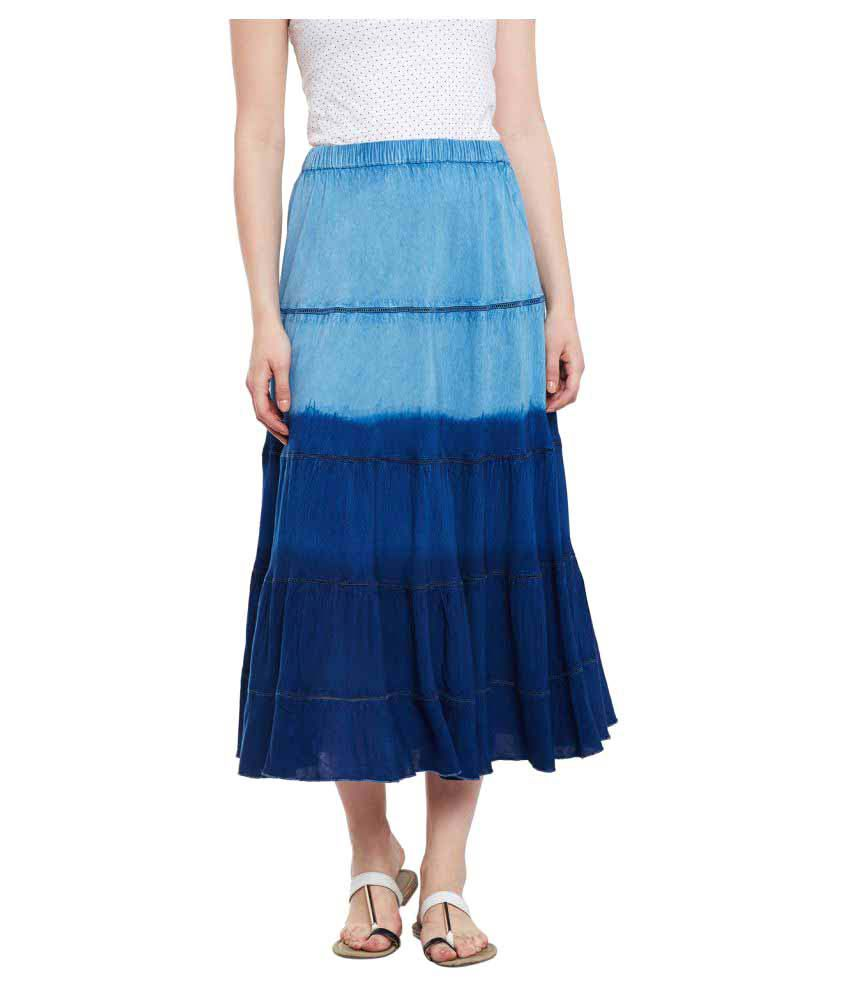 Free & Young Viscose Circle Skirt