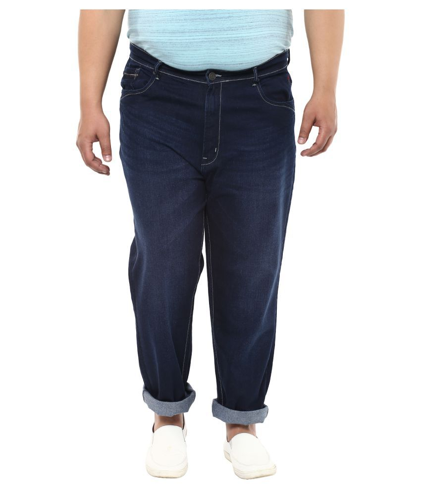 John Pride Blue Relaxed Jeans