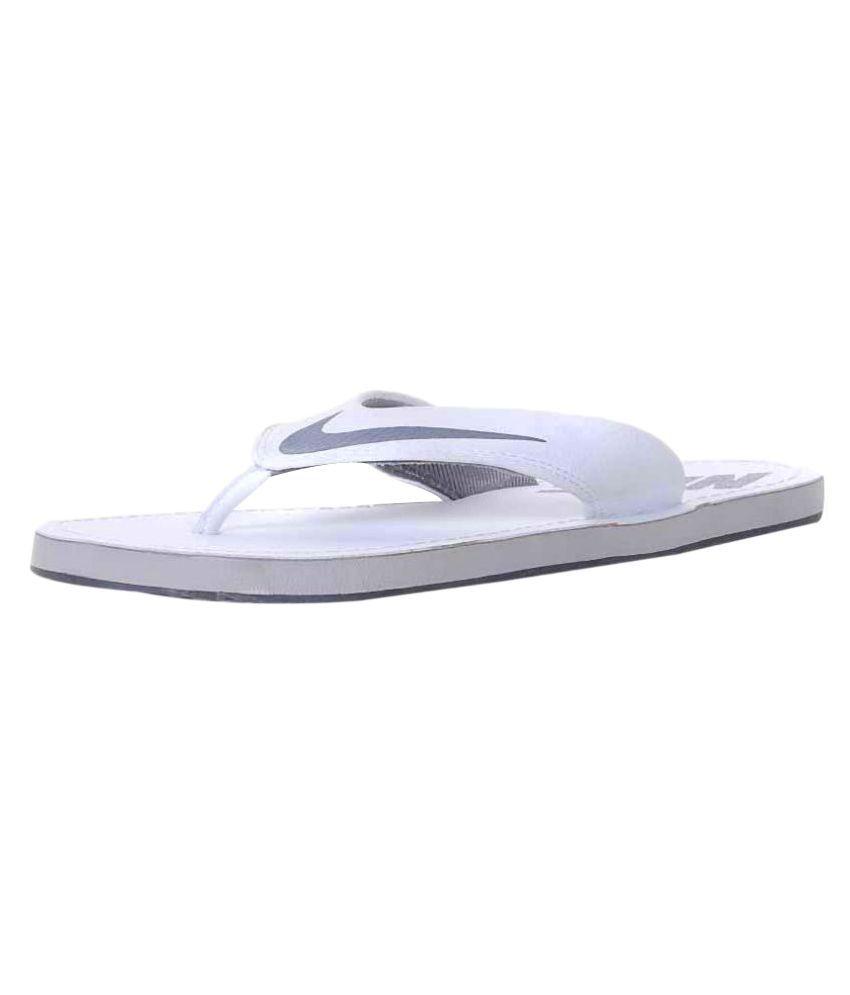 new styles df8fb e168f Nike 1 Nike 1 sleepers White Daily Slippers