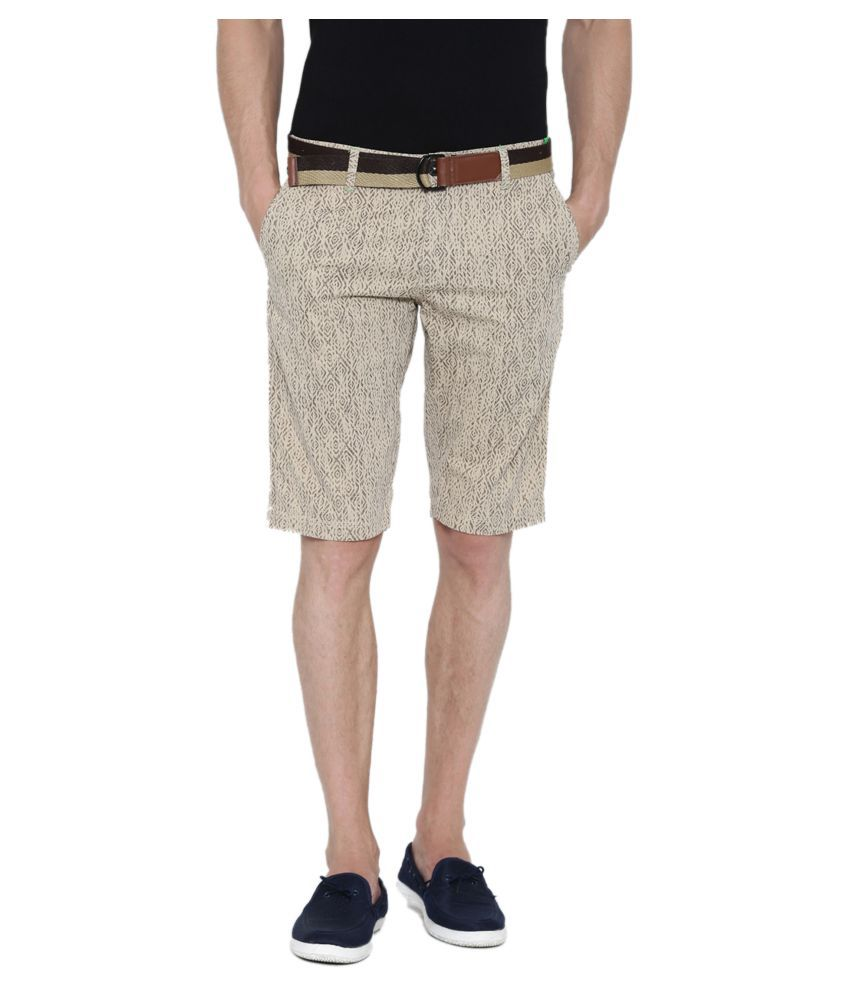 Fifty Two Off-White Shorts