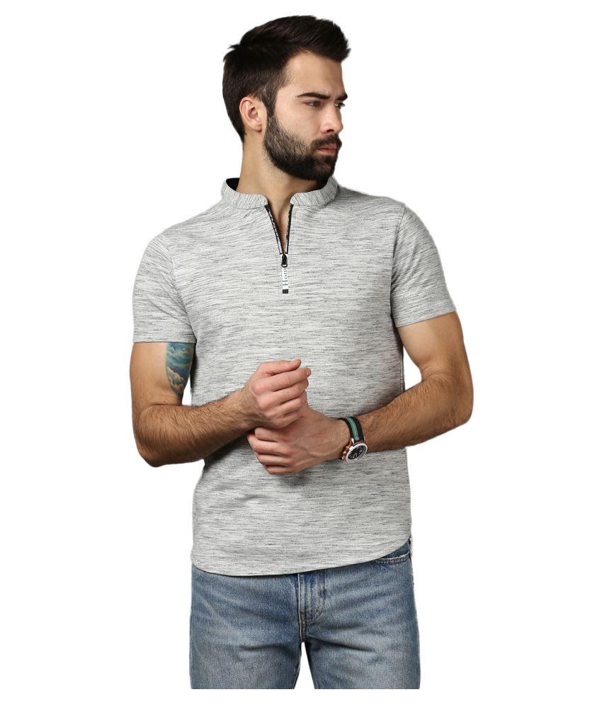 Mkh Grey Henley T-Shirt