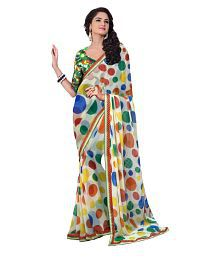 Bollywood Multicoloured Georgette Saree