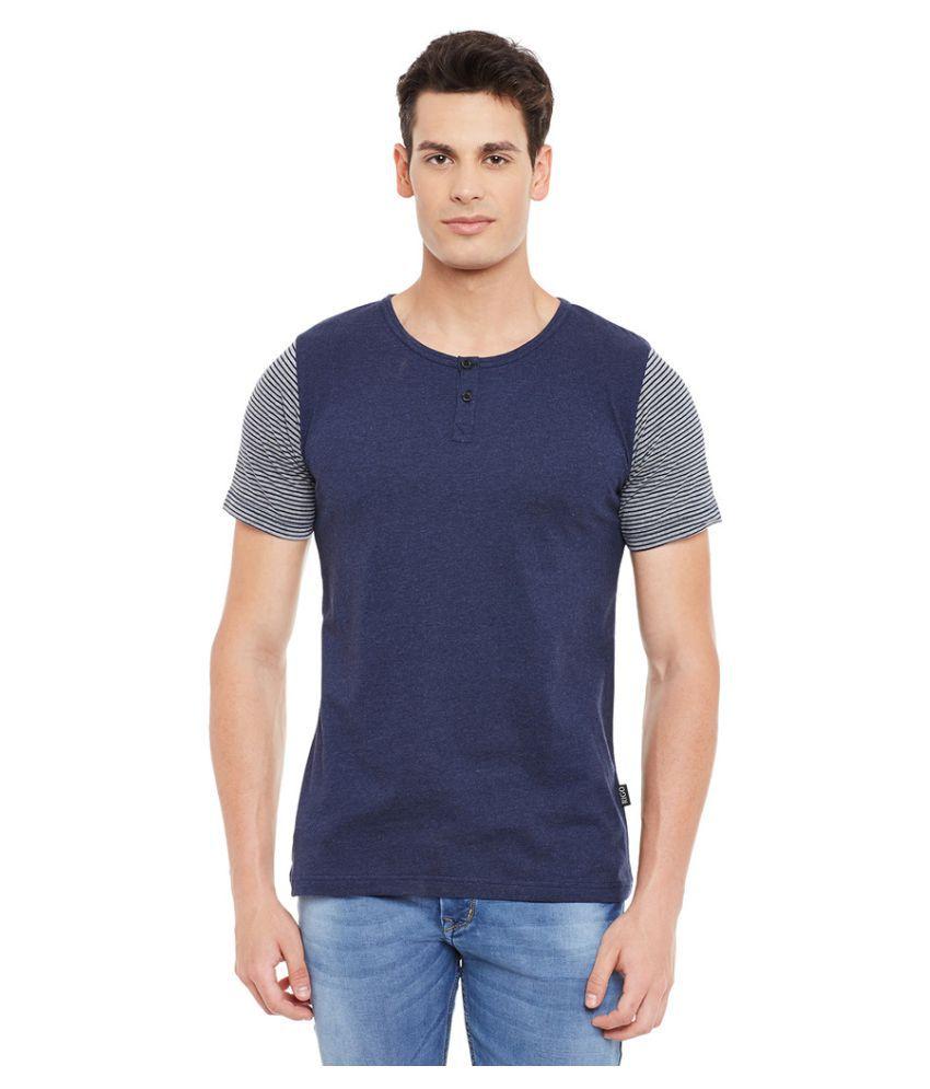 Rigo Blue Round T-Shirt