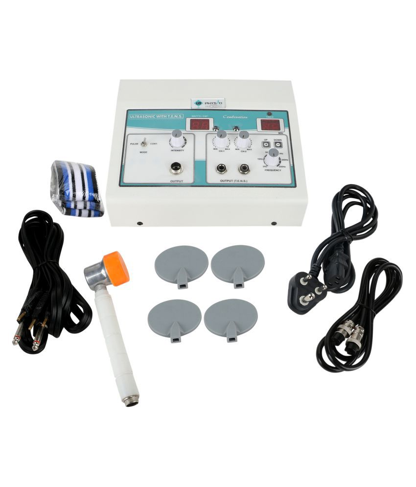 UB PHYSIO SOLUTIONS White Electro Therapy Combination Therapy (Tens+Us)