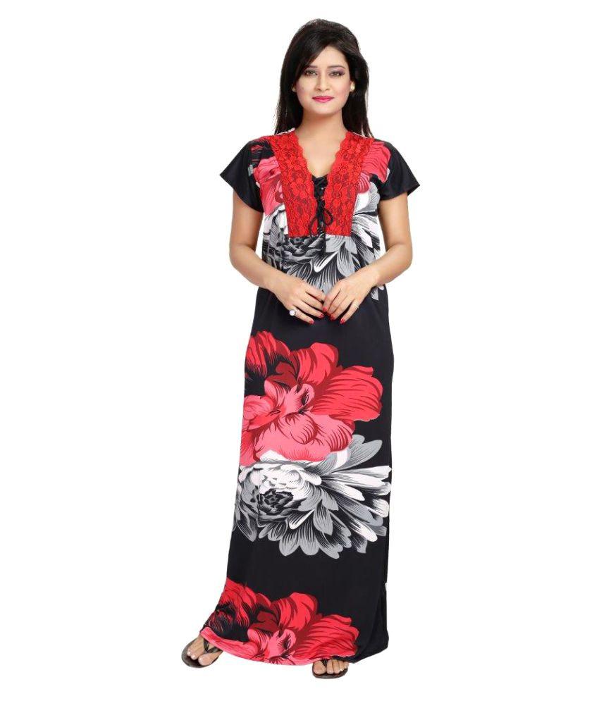 Diljeet Satin Nighty & Night Gowns