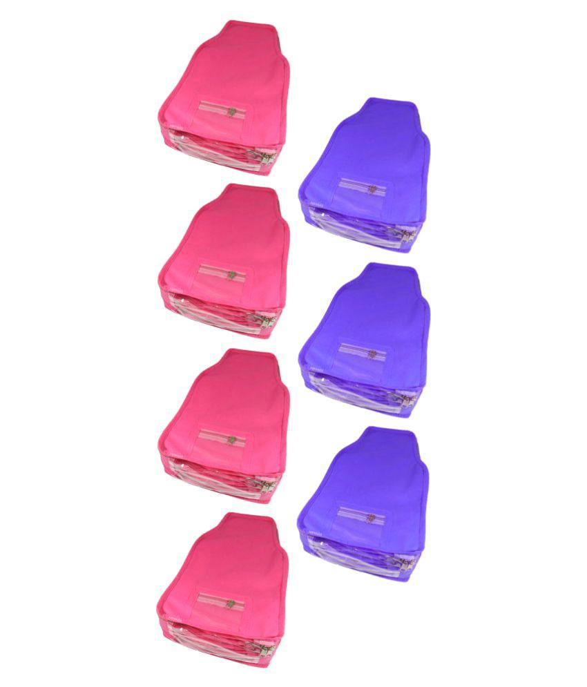 Abhinidi Purple Apparel Covers - 7 Pcs