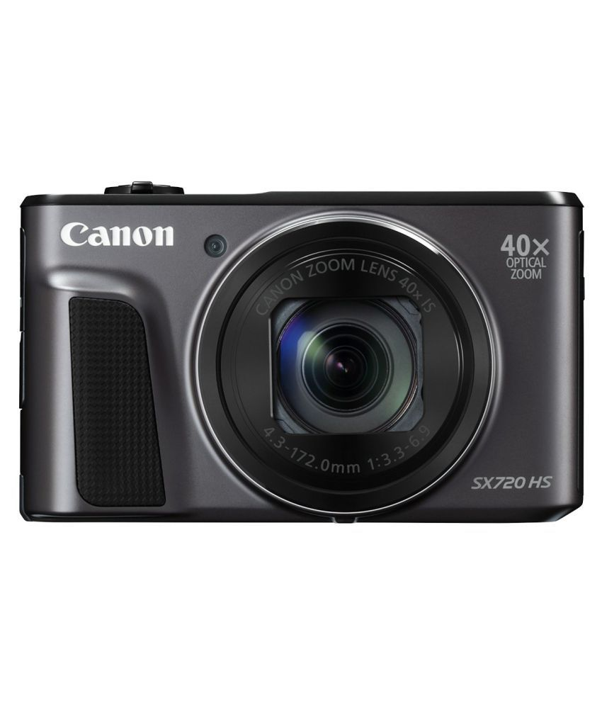 Canon PowerShot SX720 HS Point and Shoot Camera(Black 20.3 MP) PowerShot SX720 HS