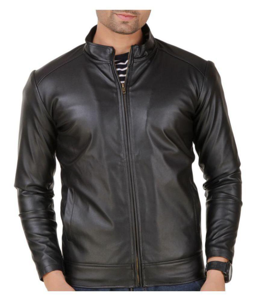 03b42cdeea0 Leather Retail Black Leather Jacket - Buy Leather Retail Black ...