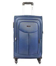 Safari Tergo Blue Small 4 Wheel Luggage Trolley