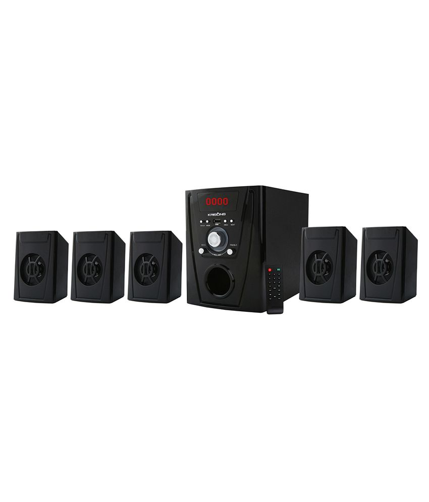 Krisons Polo 5.1 Multimedia Speaker System For Home/Theatre Use