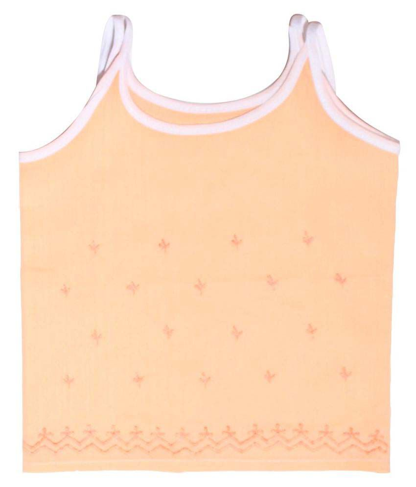 Babeezworld Baby Cotton Half Sleeves Cut Sleeve Sleeveless Vest Tshirt Jhabla Top Suitable For Girls & Boys (Kids Pack Of 1)