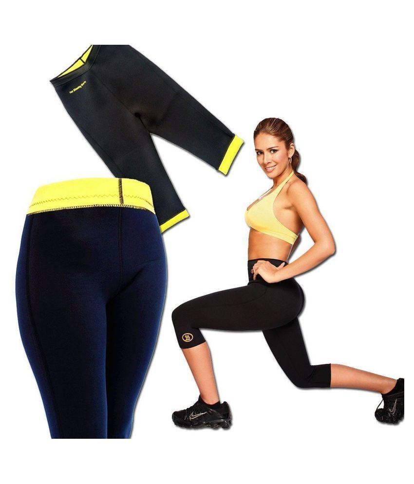 SP ENTERPRISES Size_XXXL Hot Shaper Pant Fat Cutter & Fat Burner Pant