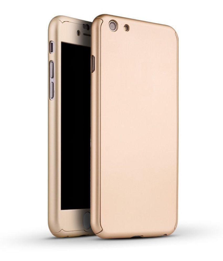 Vivo Y21L Plain Cases Sami - Golden