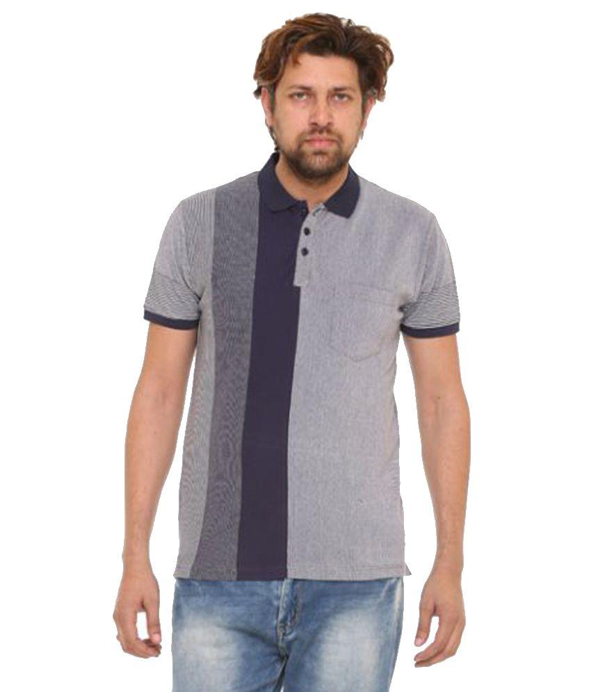 Gavio Grey Round T-Shirt
