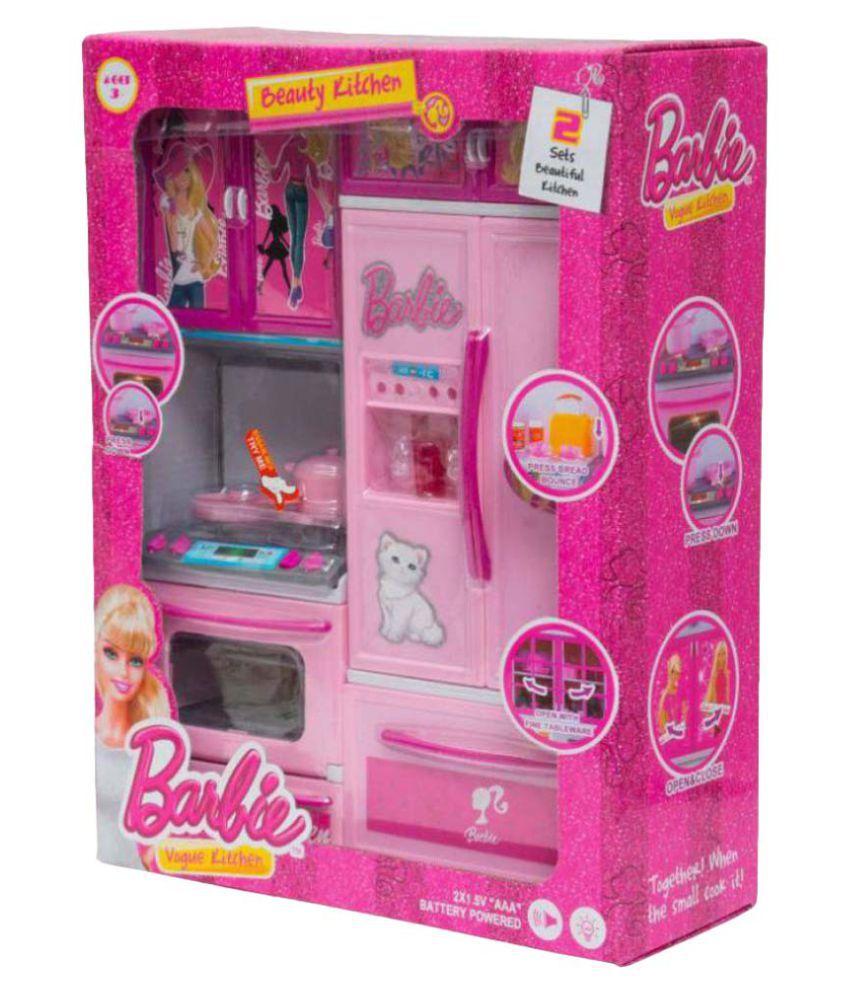Latest Pink Barbie Modern Kitchen Set Buy Latest Pink Barbie