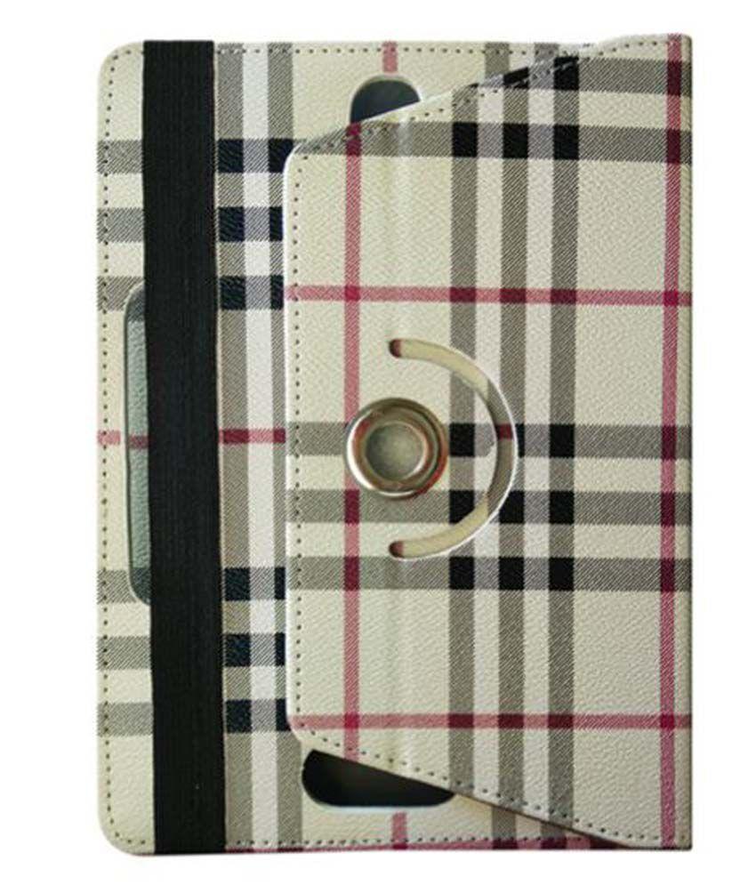 Karbonn A37 Hd Flip Cover By Fastway Multi Color