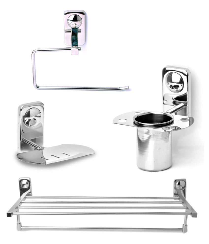 buy abyss stainless steel bath set online at low price in india