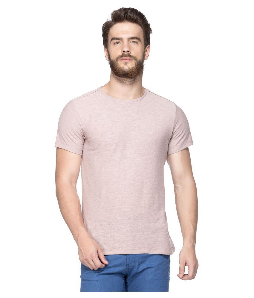 Tinted Peach Round T-Shirt
