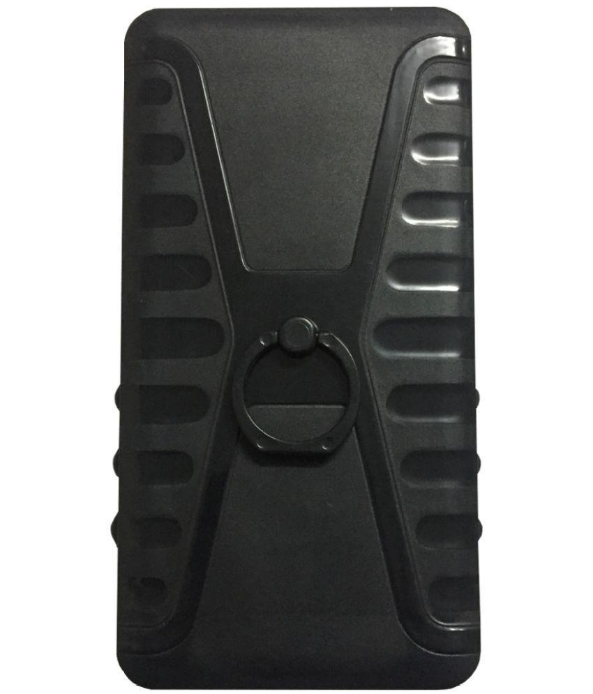 Micromax Canvas Nitro 3 E352 Cases with Stands Zocardo - Black