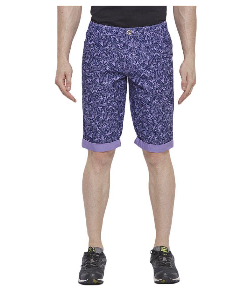 Byouth Purple Shorts