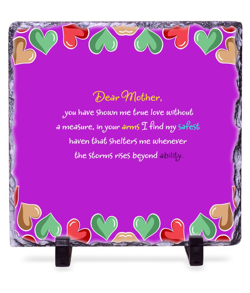 Happy Mother Day Tile Frame: Buy Online at Best Price in India ...