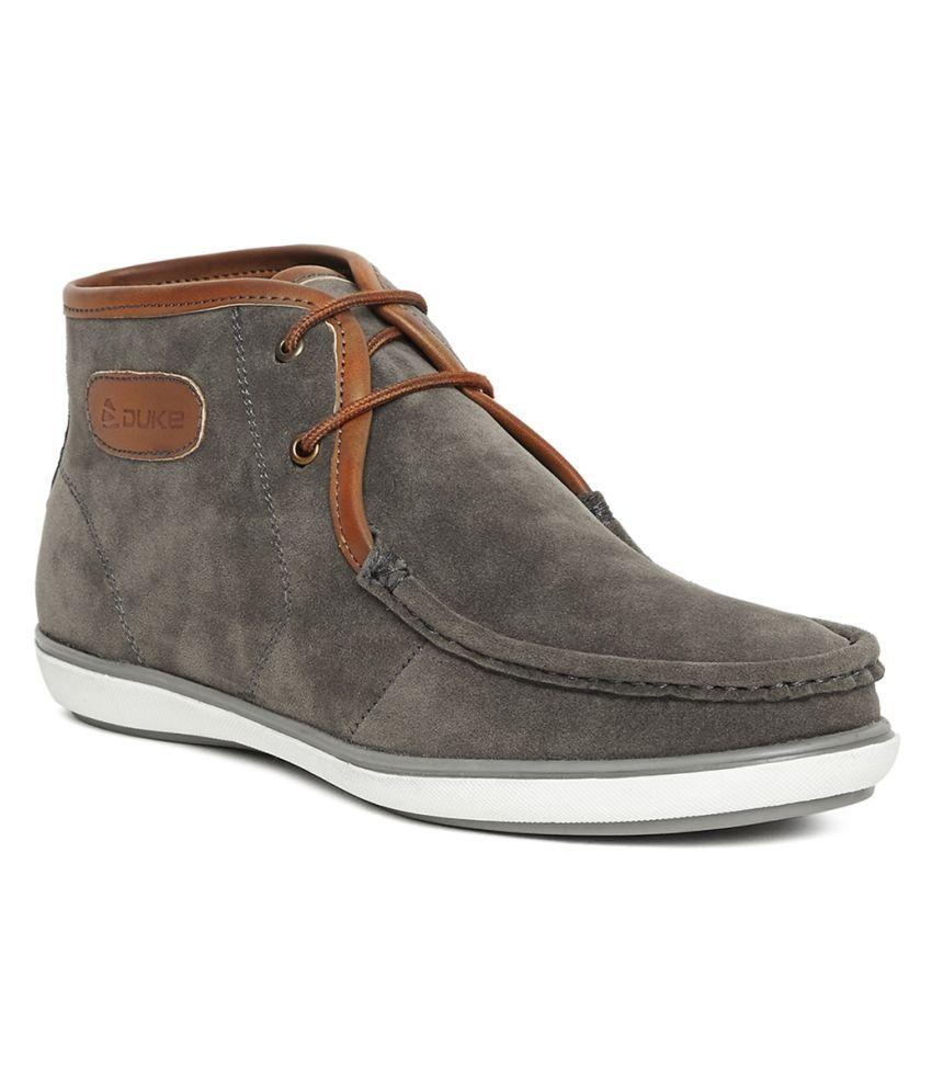 Duke Gray Casual Boot