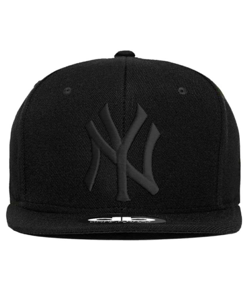 Solid Black Hip Hop Caps for Boys  Buy Online at Low Price in India -  Snapdeal d758e8b8d7f