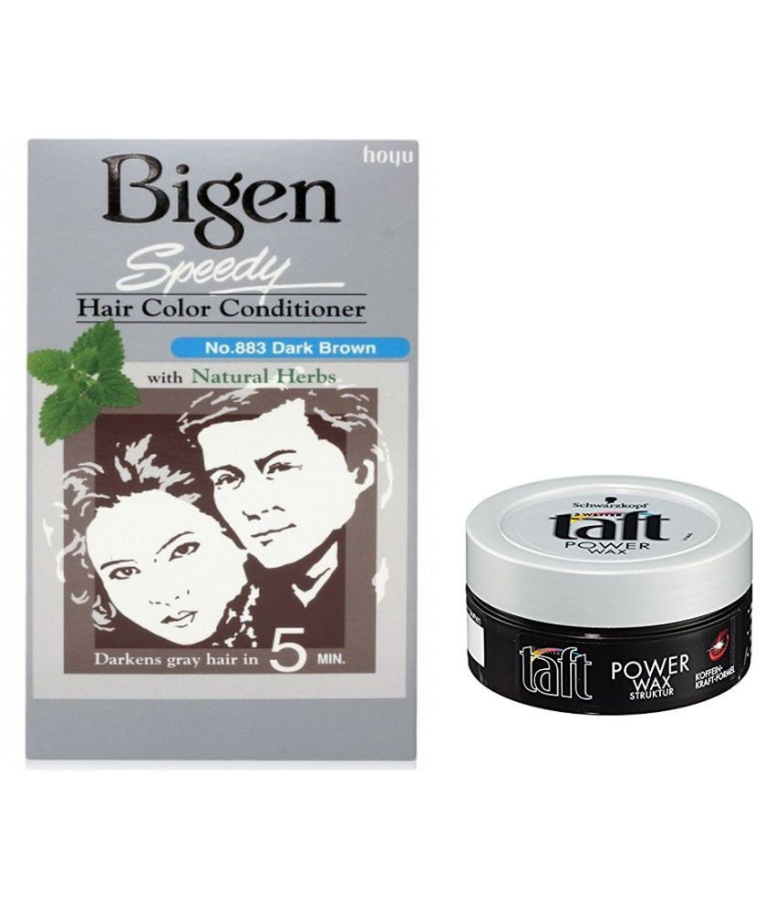 Bigen Semi Permanent Hair Color Dark Brown 200 Gm Buy Bigen Semi