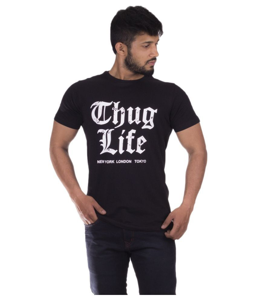 Urban Age Clothing Co. Black Round T-Shirt