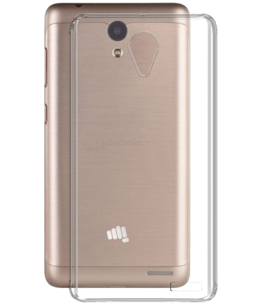 huge selection of a21fa 6ee3f Micromax Vdeo 1 Q4001 Soft Silicon Cases Deltakart - Transparent