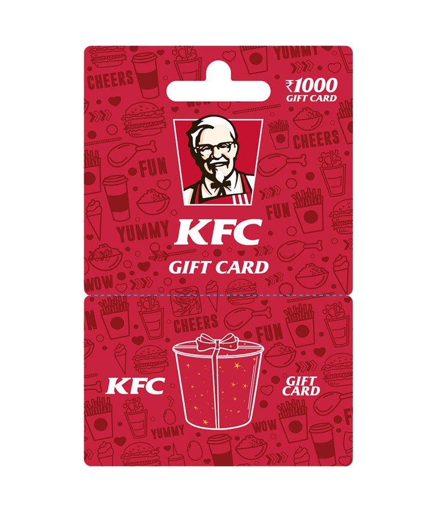 KFC Gift Card INR 1000