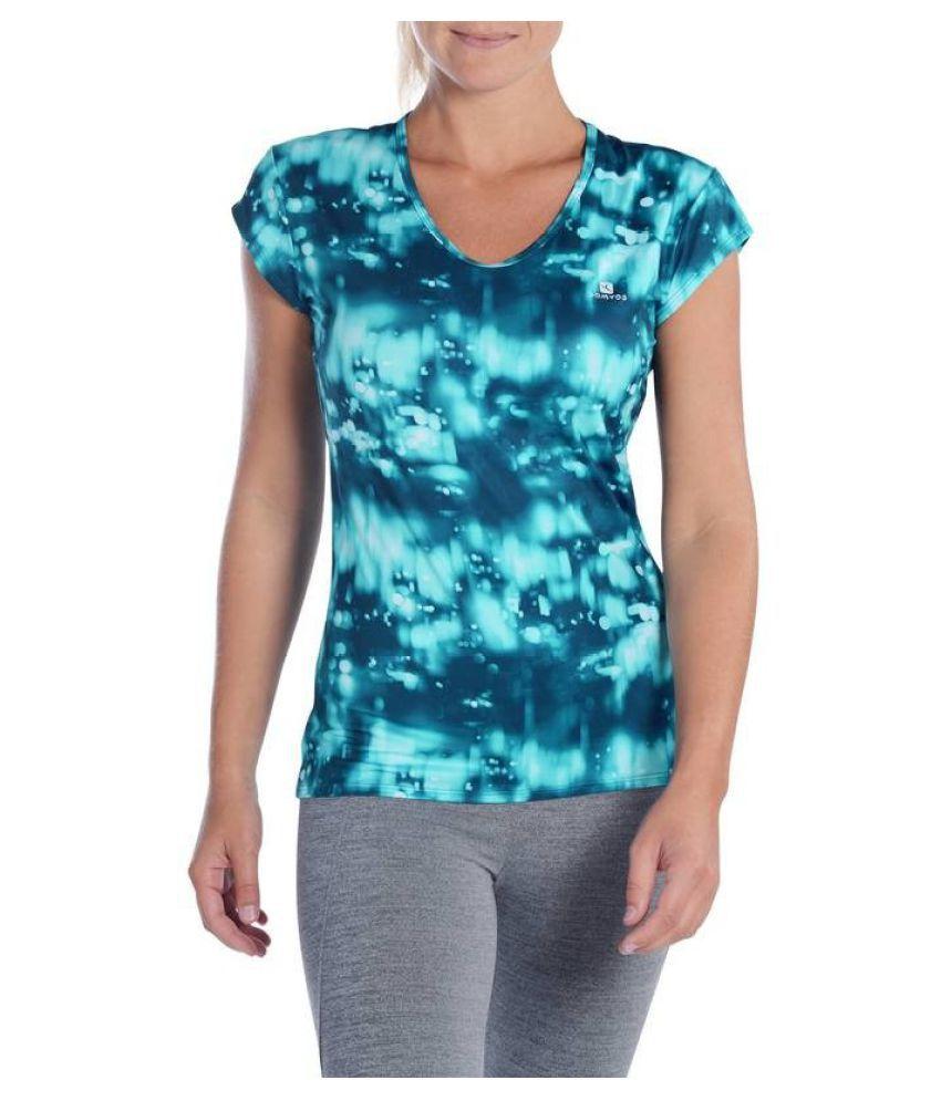 DOMYOS Women's Regular Fitness Cardio T-shirt