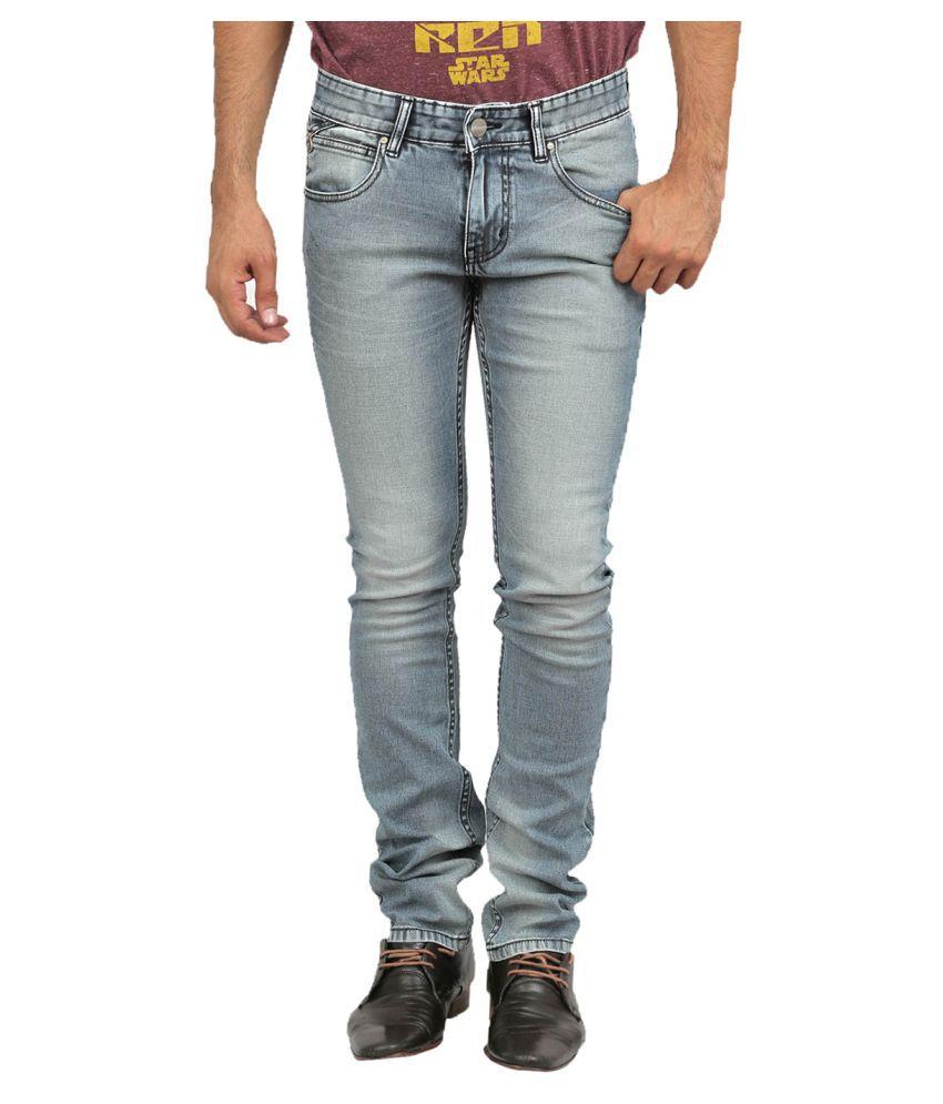Numero Uno Grey Skinny Jeans
