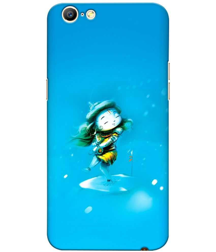 Oppo A57 Printed Cover By CRAZYINK