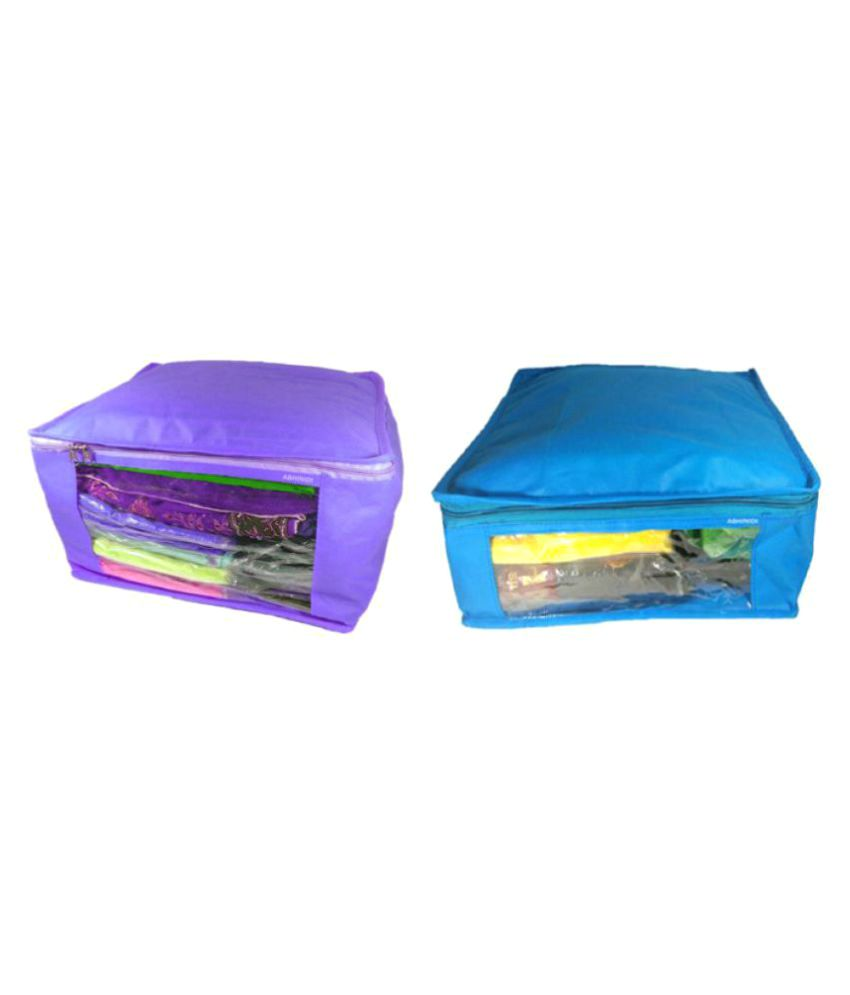 Abhinidi Multi Saree Covers - 2 Pcs
