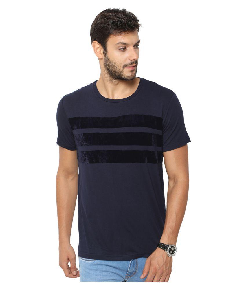 Globus Blue Round T-Shirt