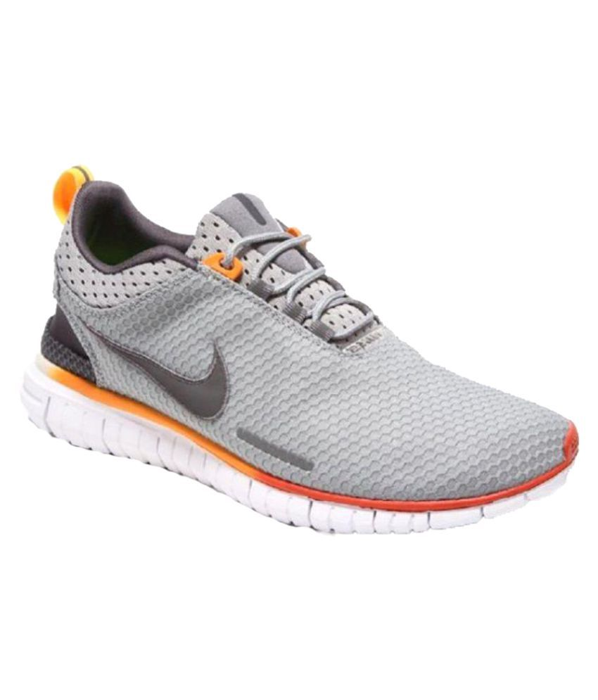 the latest 4bc89 92e42 Nike Free OG Breathe Gray Training Shoes - Buy Nike Free OG Breathe Gray  Training Shoes Online at Best Prices in India on Snapdeal