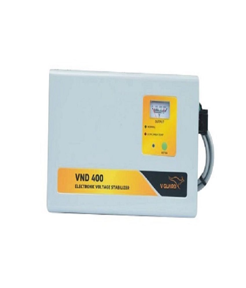 V Guard VND 400 Voltage Stabilizer for AC upto 1.5 Ton   150   285 V
