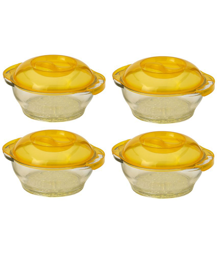 Somil Glass Food Container Set of 4