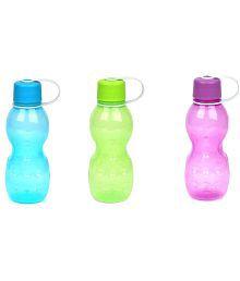 Lock & Lock Hap803 Multicolour 420ml Ml Fridge Bottle Set Of 3