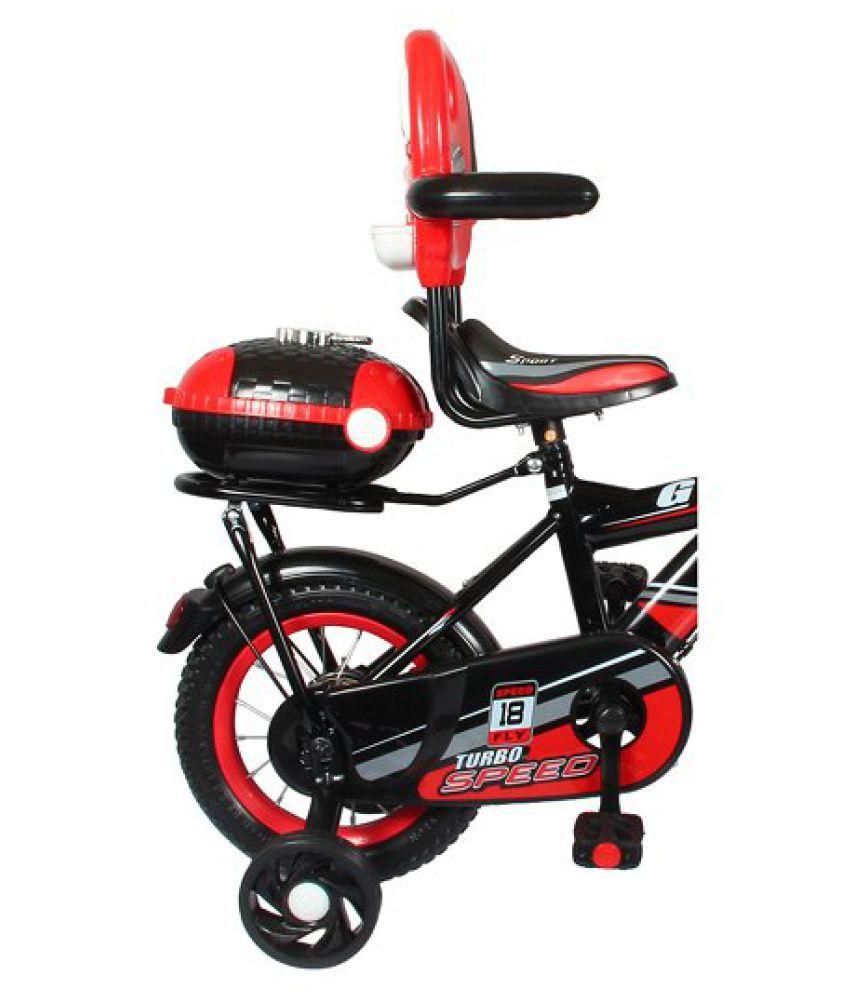 52584a6e3 HLX-NMC Kids Cycle 12 BOWTIE RED BLACK Black 30.48 cm(12) Road bike ...