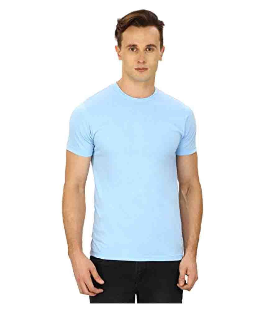 Sri Boga Tex Blue Round T-Shirt