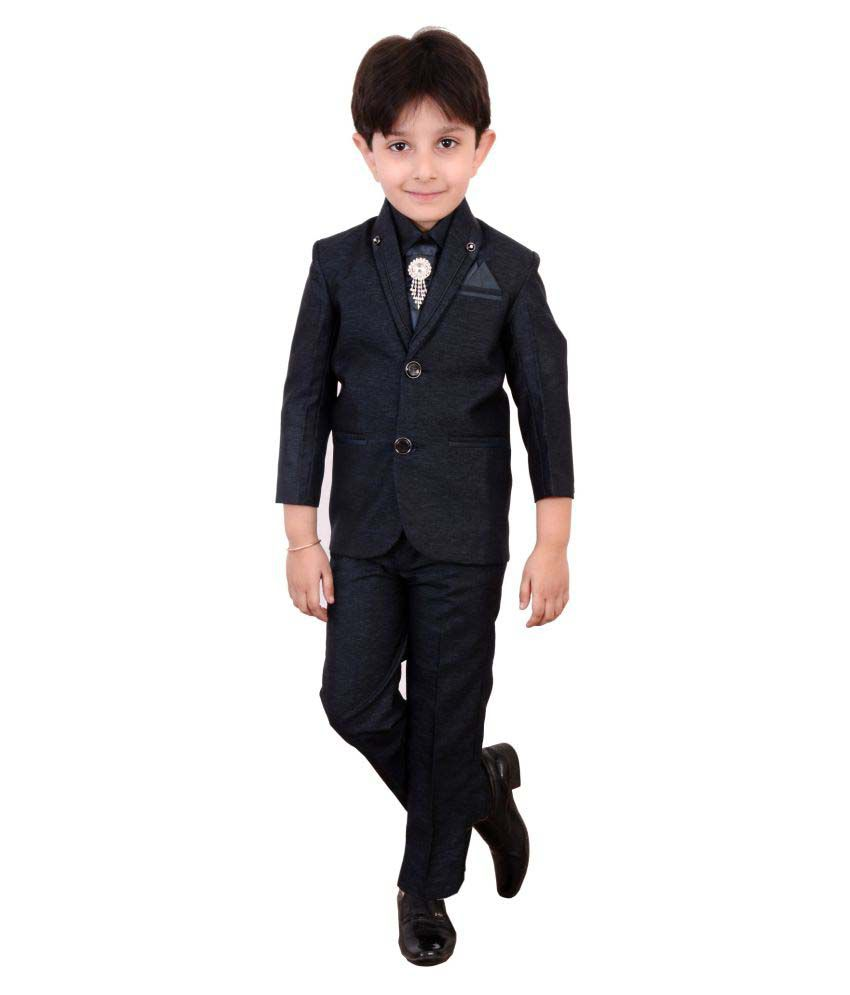 918abd173 Boys Coat Suit with Shirt Pant and Tie Kids Wear by Arshia Fashions - 2 - 11  Years - Full Sleeves - Party Wear - Buy Boys Coat Suit with Shirt Pant ...